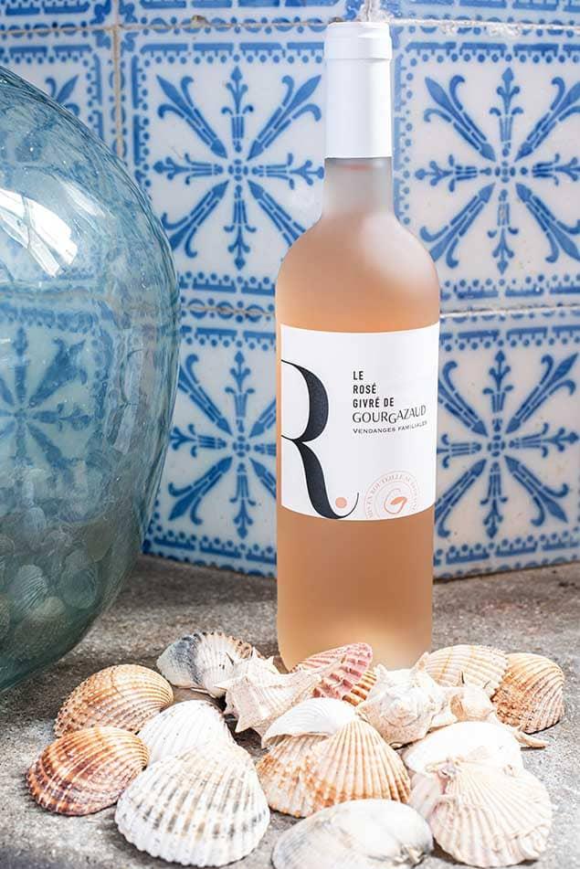 Bouteille de Rosé La Livinière