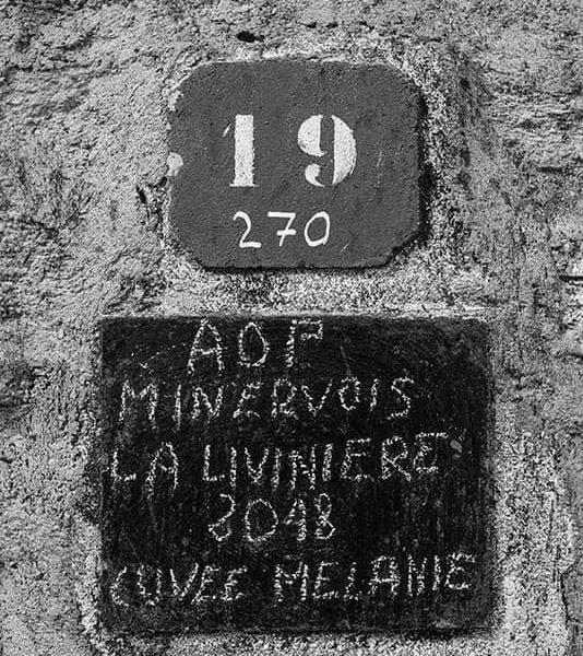Tableau AOP Minervois La Livinière 2018 Cuvée Mélanie
